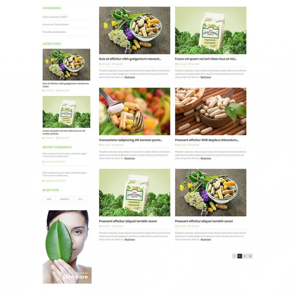 hight resolution of theme health beauty nova bio medical store 6