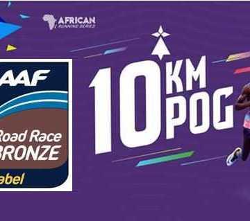 Le 10 KM DE Port-Gentil labellisé BRONZE IAAF