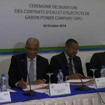 Eau et Electricité: des contrats de concession signés pour améliorer le social des Gabonais