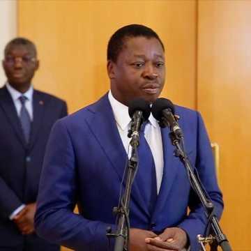 Visite d'amitié: Ali Bongo a reçu Faure Gnassingbé du Togo.