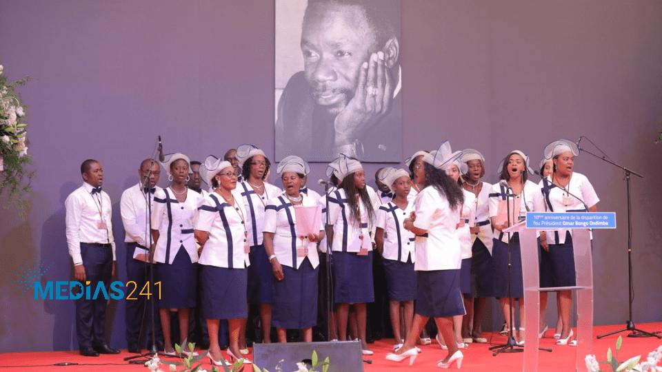 OMAR BONGO ONDIMBA: 5 Chefs d'États au culte d'actions de grâces