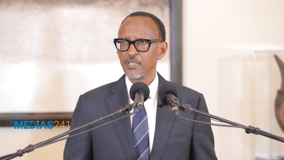 Paul Kagame en visite de travail et d'amitié à Libreville