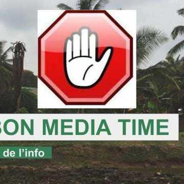 PRESSE: GABON MEDIA TIME SUSPENDU !