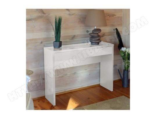 price factory meuble d entree console arena coloris blanc meuble design pour votre entree ma 76ca182meub e8lce