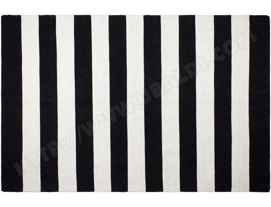 fabhabitat tapis interieur exterieur nantucket noir et blanc tres grand 17247