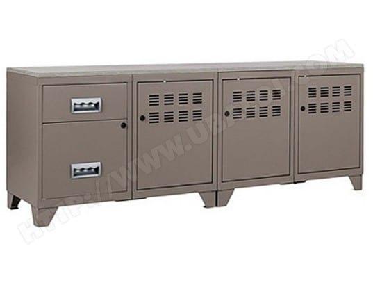 pierre henry meuble tv bois metal industriel 5146