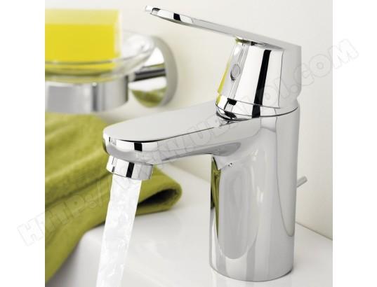 grohe robinet mitigeur pour lavabo eurosmart cosmopolitan 32828000 ma 14ca60 robi tcaop