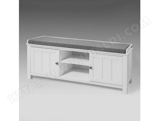 sobuy fsr35 w banc de rangement meuble bas entree meuble a chaussure fsr35 w