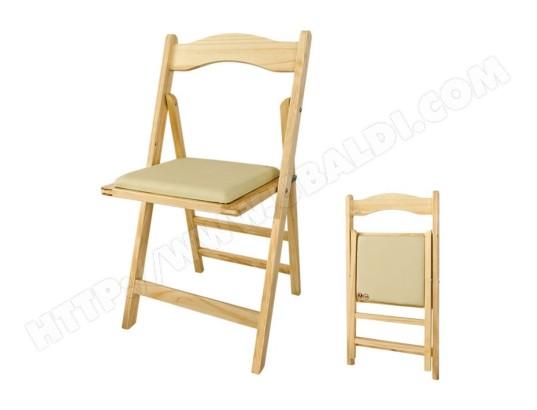 sobuy fst06 n chaise pliante en bois avec assise rembourree naturel du bois fst06 n