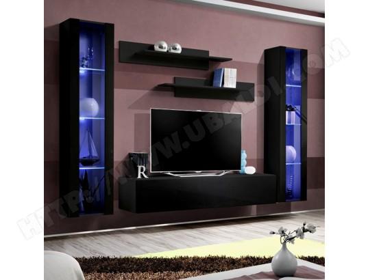 nouvomeuble meuble tv avec rangement noir janina ma 82ca487meub li8kt