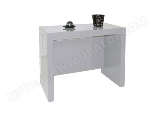 giovanni marchesi table console extensible milano gris metal ma 82ca182tabl 7auox