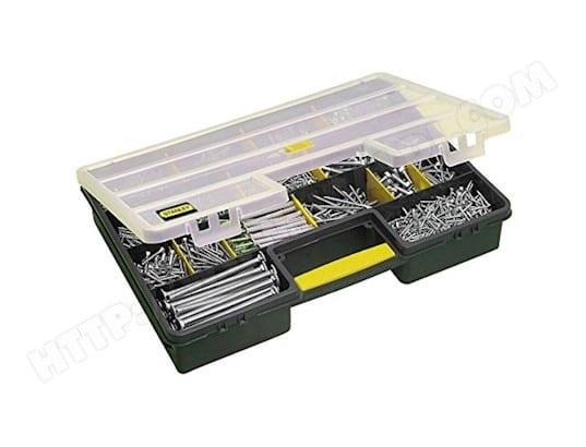 stanley boite a vis rangement pro 25 compartiments stanley ma 28ca444boit xiowp