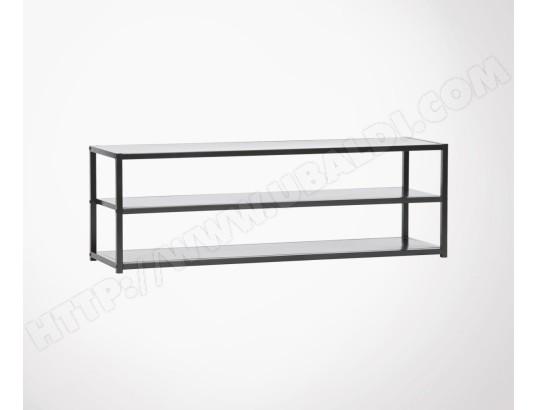 meubles design meuble tv contemporain metal turnoff woood ma 11ca487meub kw8sl