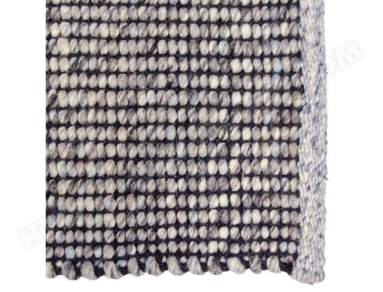 pegane tapis coloris gris bleu clair en coton laine dim 200 x 300 x 1 cm pegane ma 82ca183tapi jbgw3