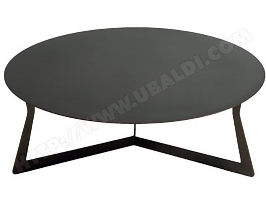 egoitaliano table basse jupiter table basse marron 90cm