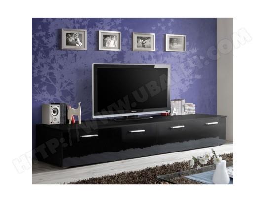 paris prix meuble tv design duo 200cm noir ma 12ca487pari r6zy8