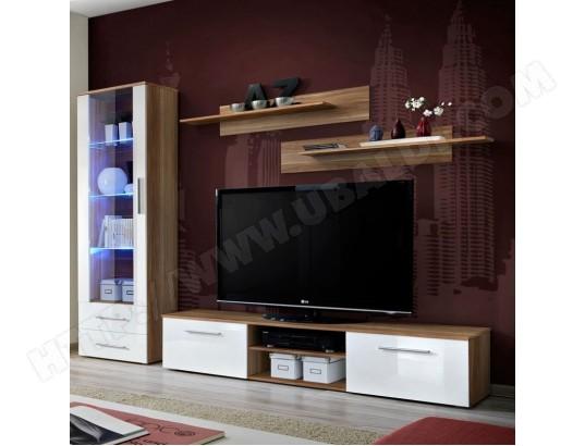 paris prix ensemble meuble tv bibliotheque galino i wood prunier blanc ma 12ca487pari g4fm7