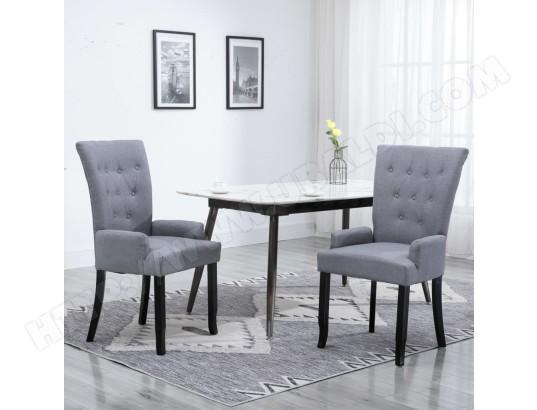 icaverne icaverne chaises de salle a manger chic chaise de salle a manger avec accoudoirs gris clair tissu ma 15ca493icav o0ese