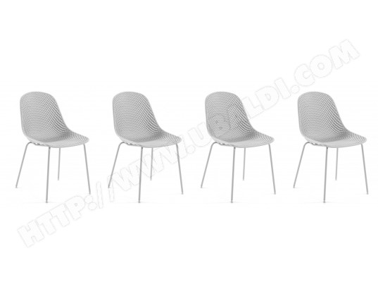 lf chaise quincy chaises blanches