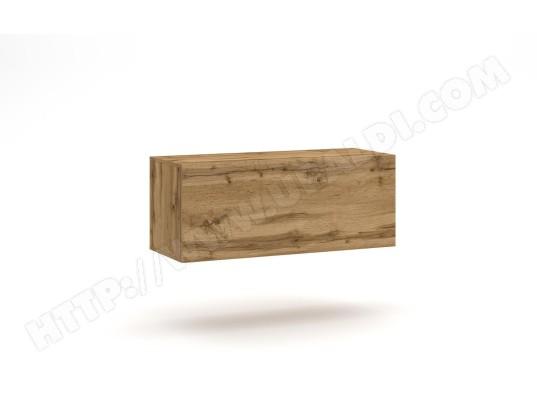 vivaldi vivaldi meuble tv vivo vi 1 100 cm chene wotan led style moderne ma 54ca487viva f8ua0