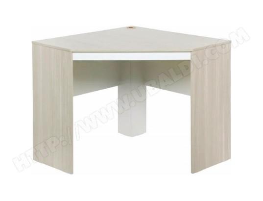 beaux meubles pas chers bureau d angle chene et blanc ma 18ca549bure lsm9q