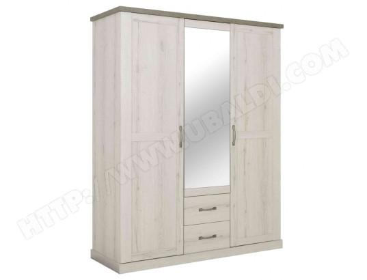 terre de nuit armoire 3 portes 2 tiroirs en bois chene blanchi et beton ar5050 1 ma 69ca194armo 7ry5p