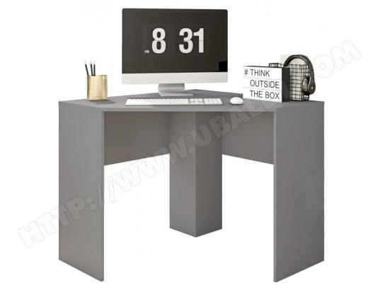 beaux meubles pas chers bureau d angle gris mat 90 cm ma 18ca549bure g1f39