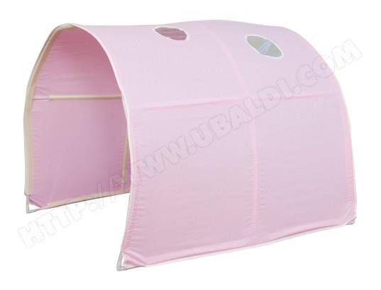 decoshop26 tunnel pour lit enfant superpose tente accessoires rose 90x70x100cm ape06030 ma 14ca476tunn 8ldf9