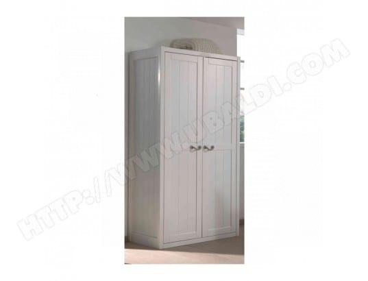 terre de nuit armoire 2 portes bois blanc largeur 100 cm ar2016 terre de nuit ma 69ca194armo 0koek