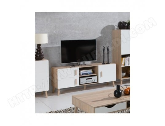 price factory meuble tv oslo meuble design type scandinave effet ultra tendance pour votre salon ma 76ca43 meub gzdai