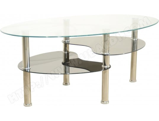 ub design table basse game table basse verre et inox
