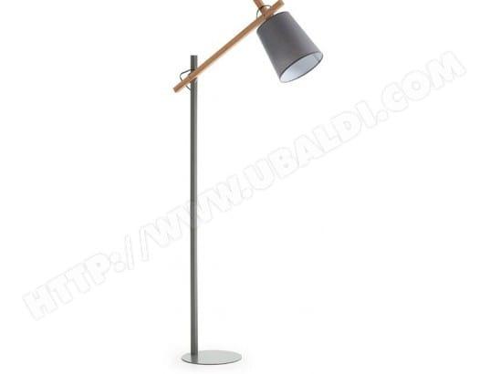 lf lampadaire salon jovik gris et bois