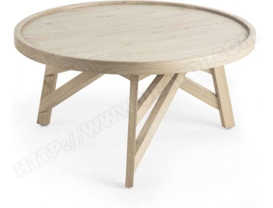 table basse lf thais diametre 83 cm pas