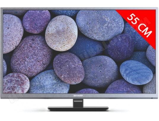 sharp tv led full hd 55 cm lc 22cfe4000es