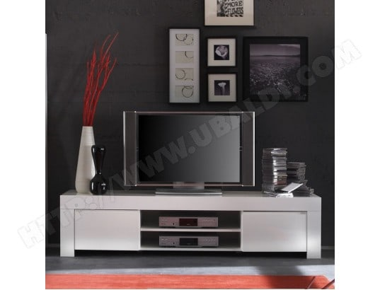 nouvomeuble meuble tv blanc laque design tripoli ma 82ca487meub i9mj5
