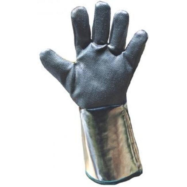 gants anti chaleur 600 tissu de verre et kevlar la paire honeywell atlantic labo ics