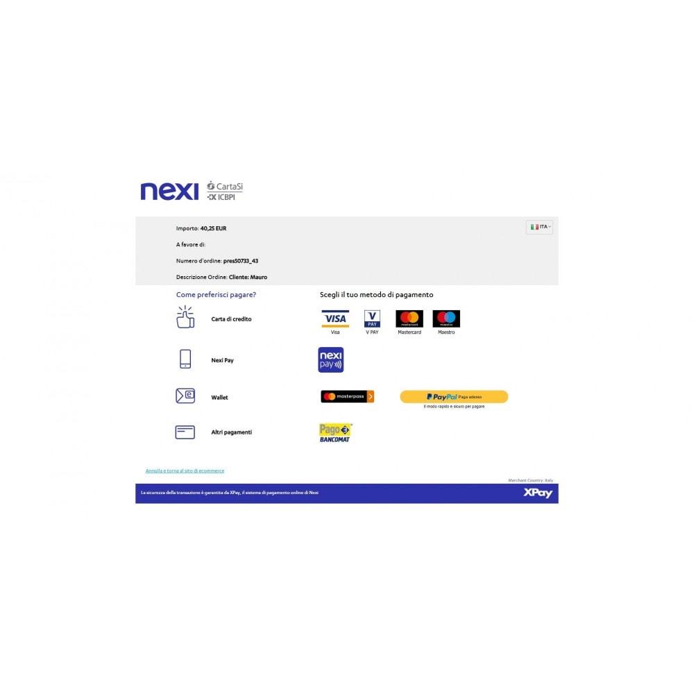 CartaSi Nexi X-Pay gateway QuiPago Keyclient Advanced
