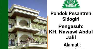 Pondok Pesantren Sidogiri, Pasuruan, Jawa Timur Media Santri NU