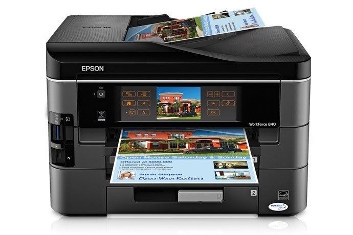 Epson workforce all in one printer also inkjet printers for rh