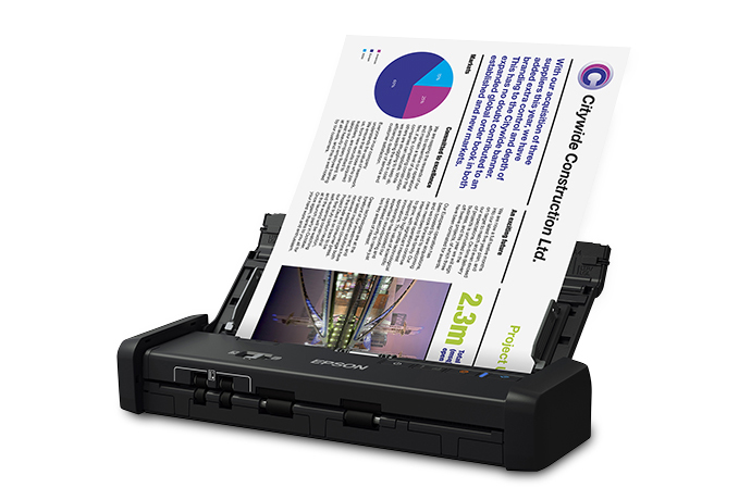 Workforce es portable duplex document scanner with adf also mobile rh epson