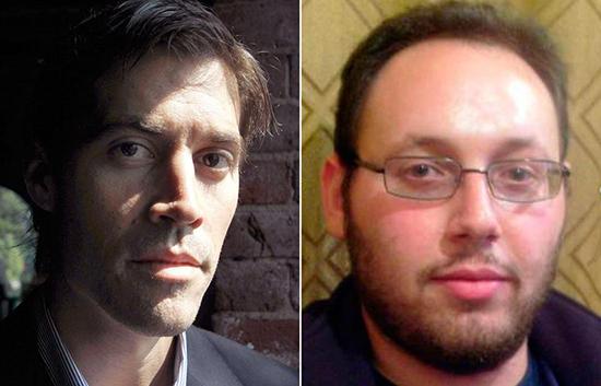 Jim Foley and Steven Sotloff, RIP. Photo courtesy of MediaShift.