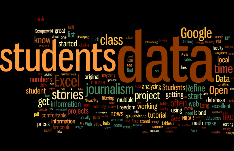 How to Teach Data Journalism for Beginners