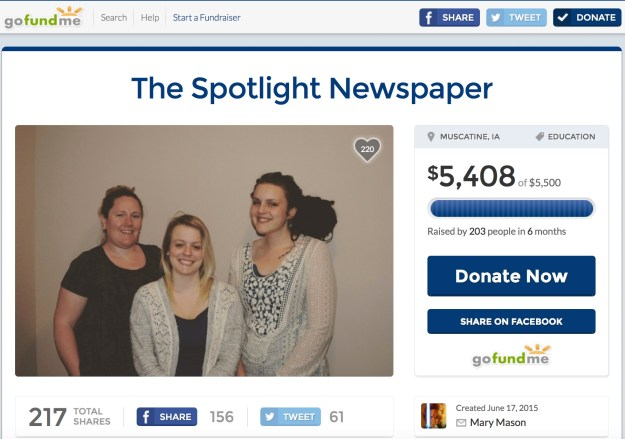 Former staffers from The Calumet raised money to start a new newspaper after their adviser was fired.