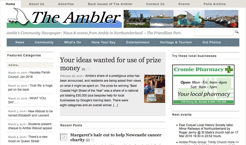 The Ambler.