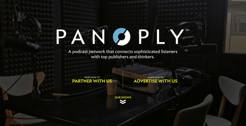 Panoply screenshot