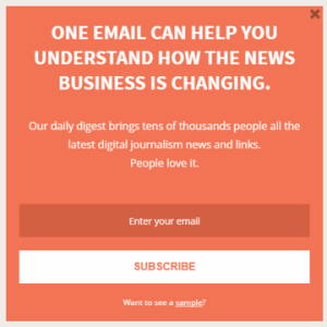 5 Newsletter Signup Boxes We Love