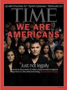 Vargas' TIME Magazine cover story