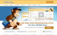 Mailchimp Email Newsletter Management Tool