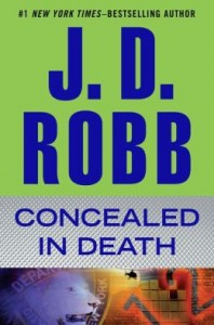 "J.D. Robb's ""Concealed in Death"" grabbed the No. 3 spot on this week's ebook bestseller."