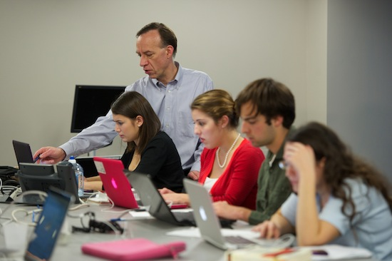 Photo of the Innovation News Center by Steve Johnson.